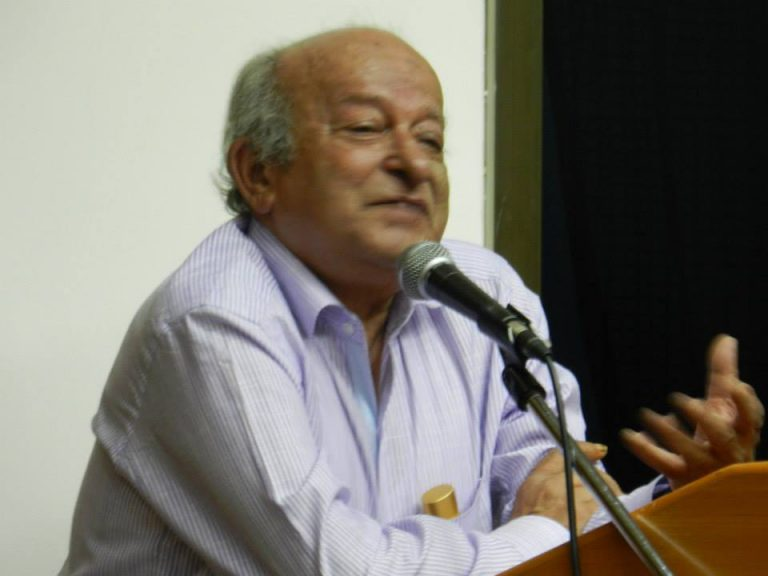 Javeed Alam speaking at the book launch of Marx, Gandhi and Modernity: Essays Presented to Javeed Alam (edited by Akeel Bilgrami), Delhi, July 2014